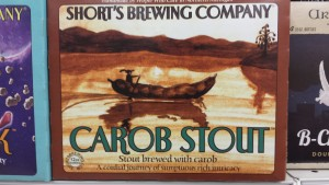 Shorts Carob Stout Michigan Beer
