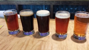 Rockford Brewing Company Flight 1