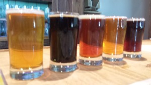 Rockford Brewing Company  Hoplust Flight