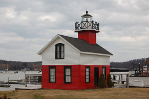 Lighthouse in Saugatuck