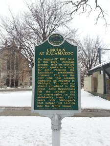 Abraham Lincoln Kalamazoo Michigan