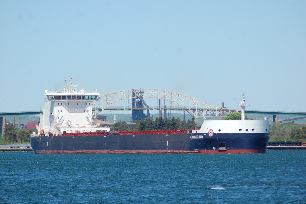 Algoma Equinox (Algoma Central, Canada) in the St. Mary's River