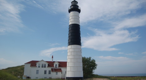 Photo Gallery Friday: Michigan's Lighthouses on Lake Michigan
