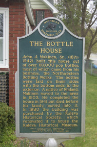 Bottle House Marker