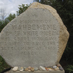 Michigan Roadside Attractions: Chief Wahbememe Burial Site in White Pigeon