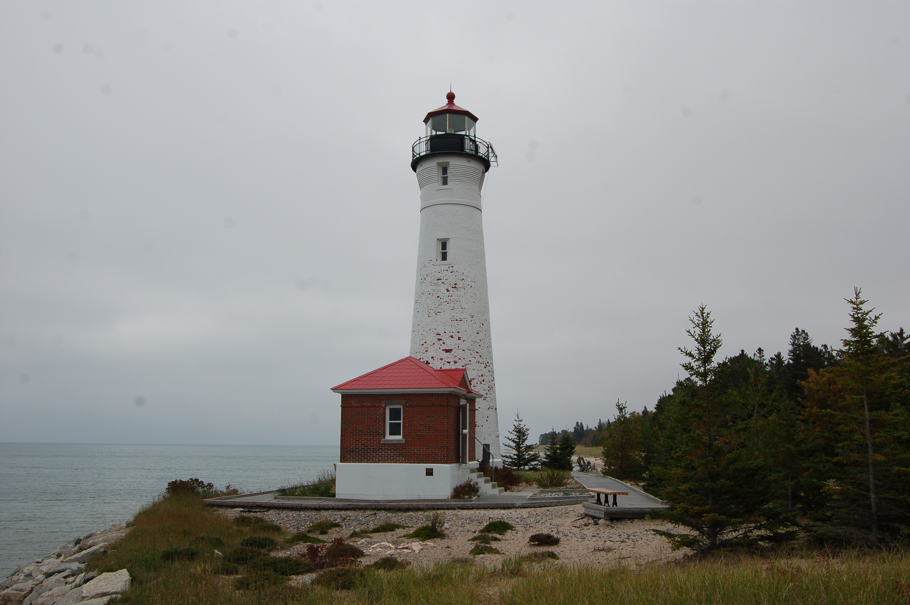 Crisp Point Lighthouse Visit One Of Michigan S Most
