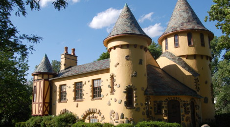 Michigan Roadside Attractions - Curwood Castle in Owosso