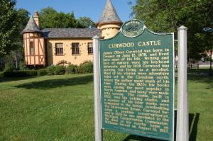 Curwood Castle Marker