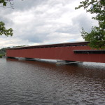 Michigan Roadside Attractions – Langley Covered Bridge in St. Joseph County
