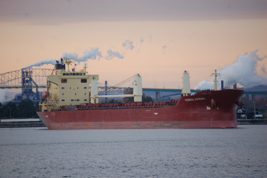 Federal Katsura (International Navigation Co., Cyprus) in St. Mary's River