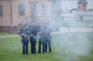 Fort Mackinac Island Soldiers