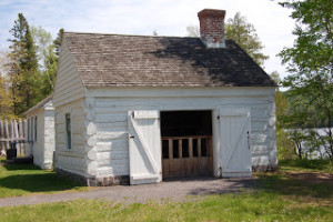 Fort Wilkins State Park Building
