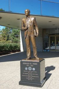Gerald Ford Statue Grand Rapids