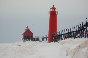 Grand Have Pier Lights, Grand Haven