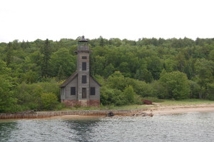 Grand Island East Channel Lighthouse - near Munising