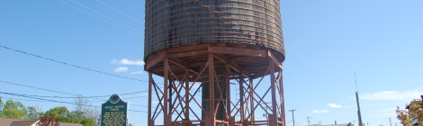 Michigan Roadside Attractions - Grant Water Tower