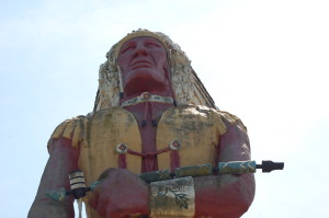 Hiawatha Indian Ironwood Michigan
