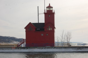 "Holland ""Big Red"" Lighthouse, Holland"