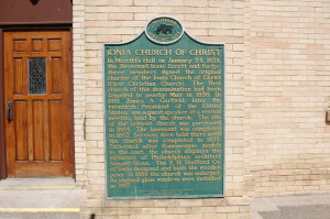 Ionia Church of Christ Marker