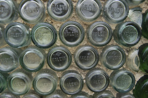 Kaleva Bottle House Close Up