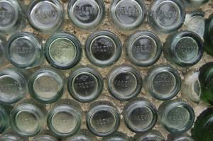 Kaleva Bottle House Close Up
