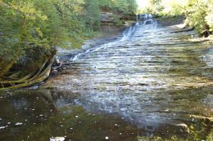 Laughing Whitefish Falls Fall View