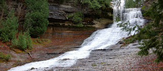 Laughing Whitefish Falls State Scenic Site - Alger County