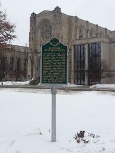 Lincoln Historical Michigan Marker
