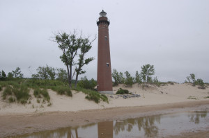 Little Sable Point Light Reflection