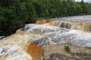 Lower Tahquamenon Falls Close