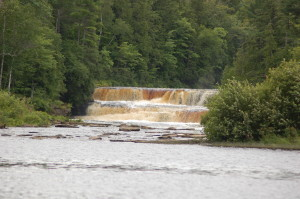 Lower Tahquamenon Falls Distant