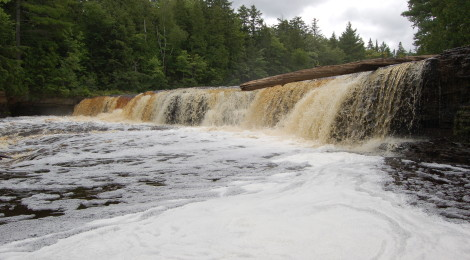 Lower Tahquamenon Falls - A Rowboat Adventure at Tahquamenon Falls State Park