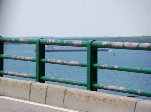 Mackinac Bridge Driving