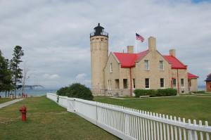 Mackinac Bridge Lighthouse