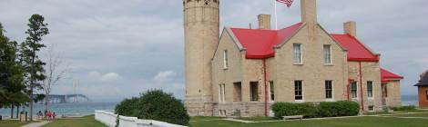 Old Mackinac Point Lighthouse - Mackinaw City