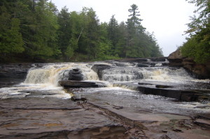 Manido Falls Porcupine Mountains