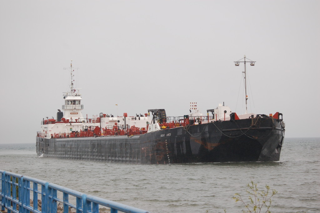 Michigan/Great Lakes (U.S. Venture Inc., USA) arriving at Cheboygan
