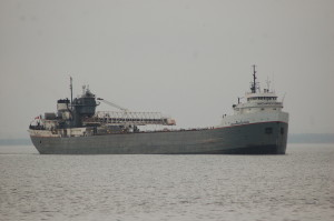 Michipicoten arriving Marquette - Freighters of Michigan