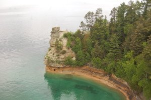 Miners Castle in Pictured Rocks