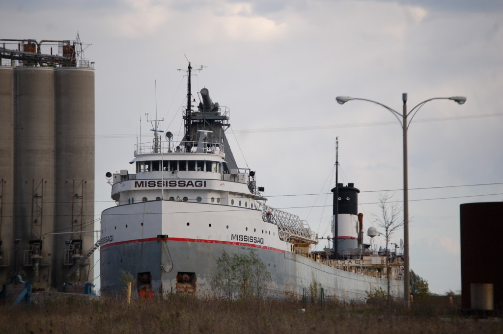 Mississagi (Lower Lakes Towing, Canada) docked in Alpena