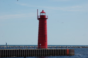 Muskegon South Pier Light, Muskegon