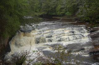 Nawadaha Falls - Presque Isle River, Porcupine Mountains Wilderness State Park