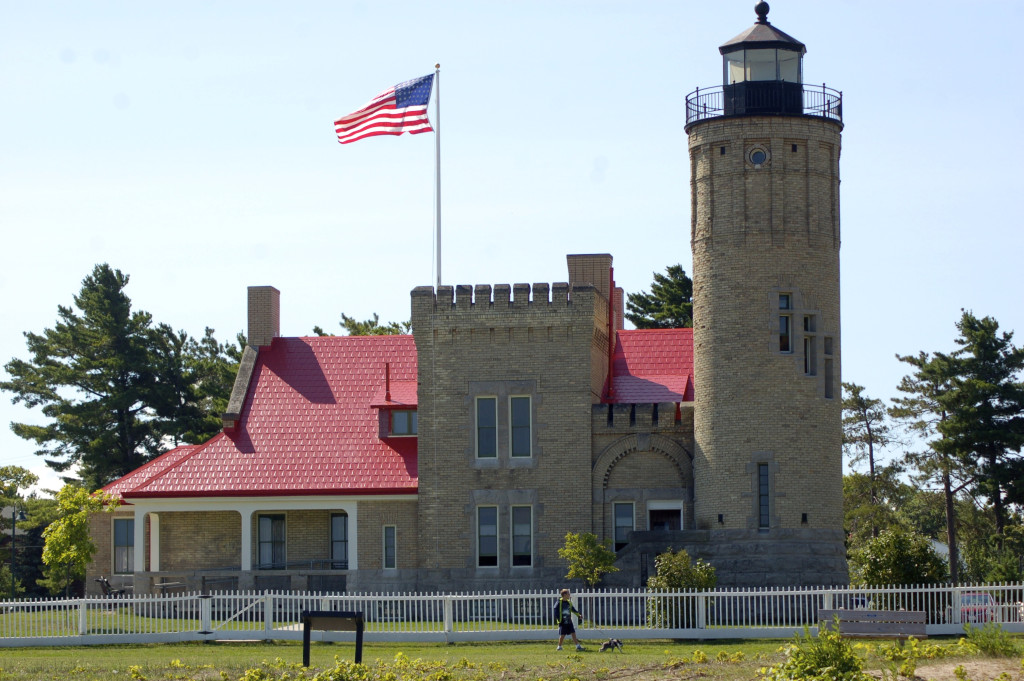 Old Mackinac Point Lighthouse, Mackinaw City