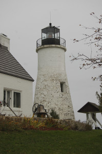 Old Presque Isle Lighthouse Vertical