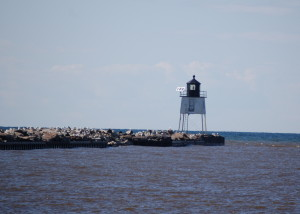 Ontonagon West Pierhead Light - Ontonagon