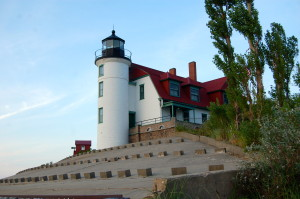 Point Betsie Lighthouse (located just off M-22)