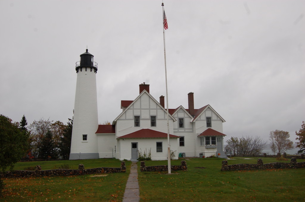 Point Iroquois Lighthouse - near Brimley