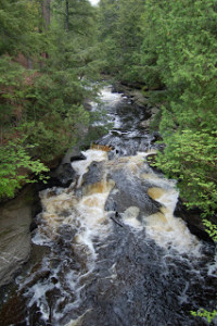 Presque Isle Falls Porcuine Mountains