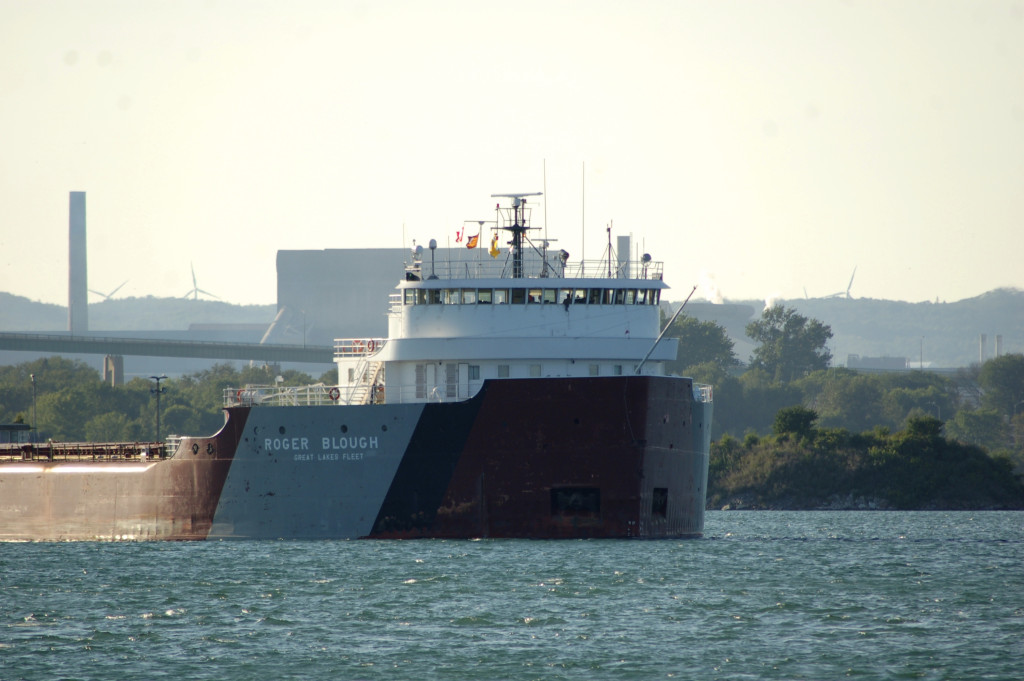 Roger Blough (Great Lakes Fleet, USA) in St. Mary's River