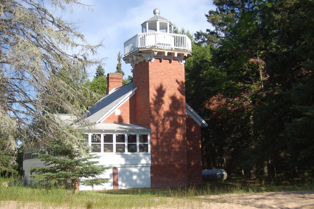 Sand Point Lighthouse - Baraga